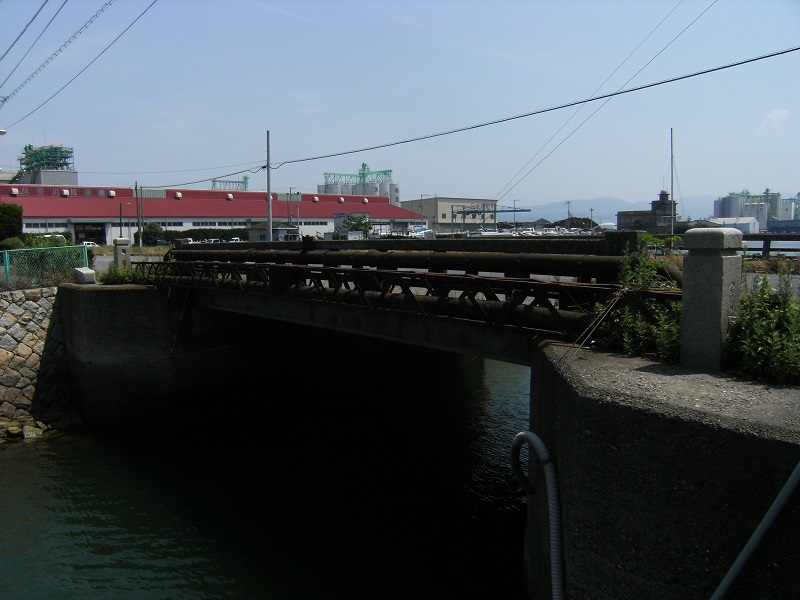 築地橋施工前