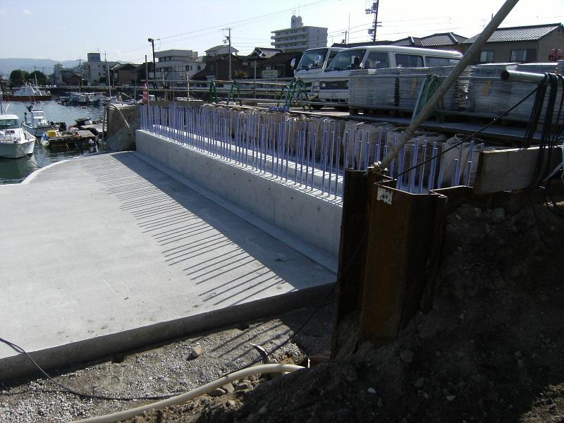 築地橋1次施工