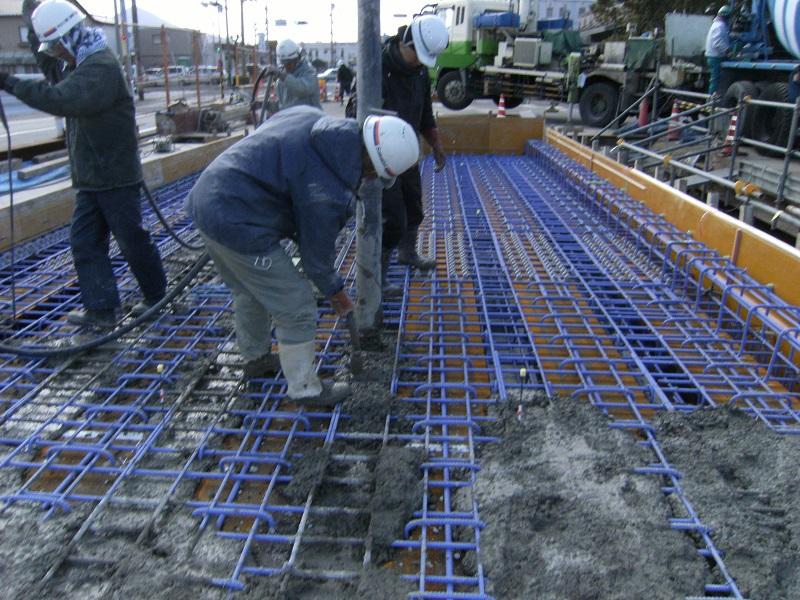 築地橋2次施工