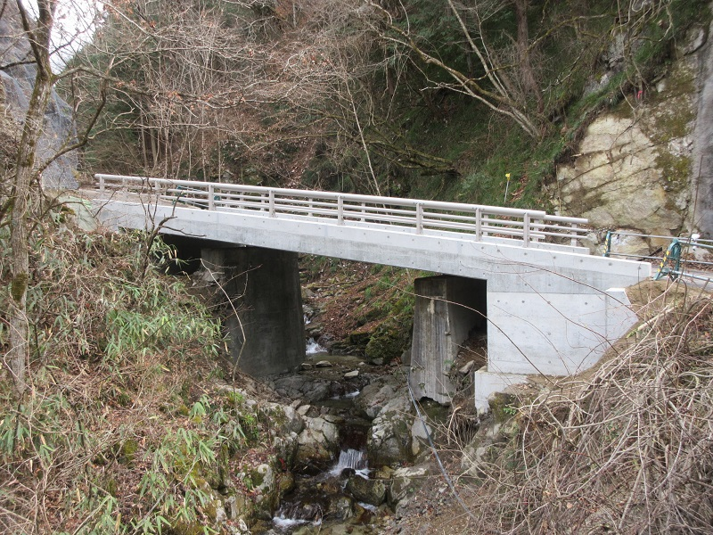 胡桃沢橋完成