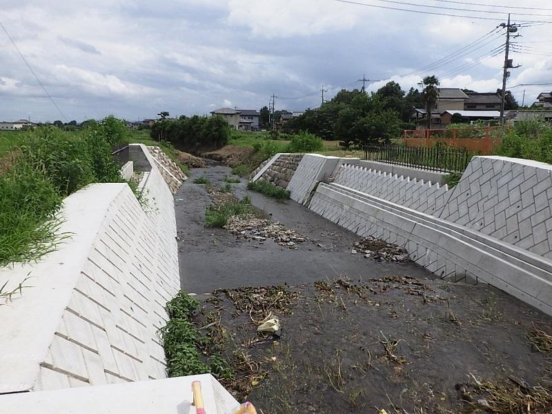 比久尼田橋施工状況