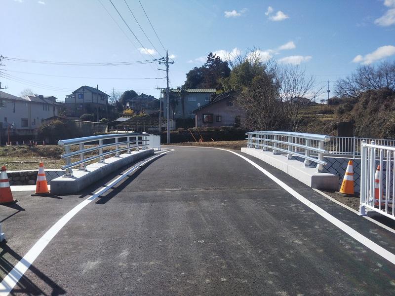 比久尼田橋完成