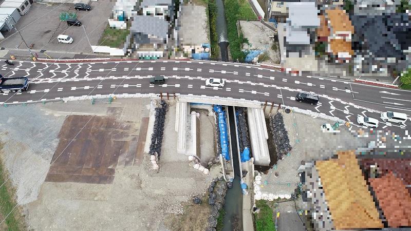 殿田橋2期施工状況