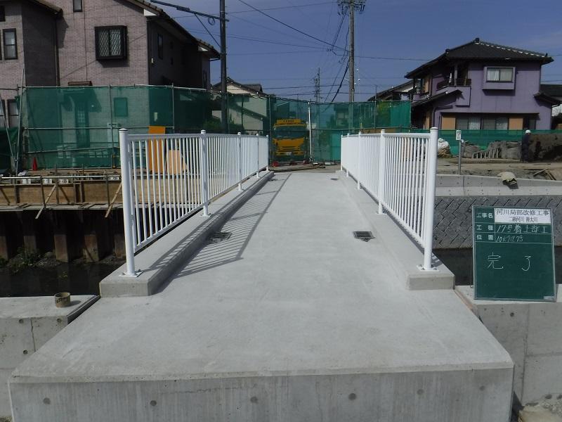 17号橋梁完成
