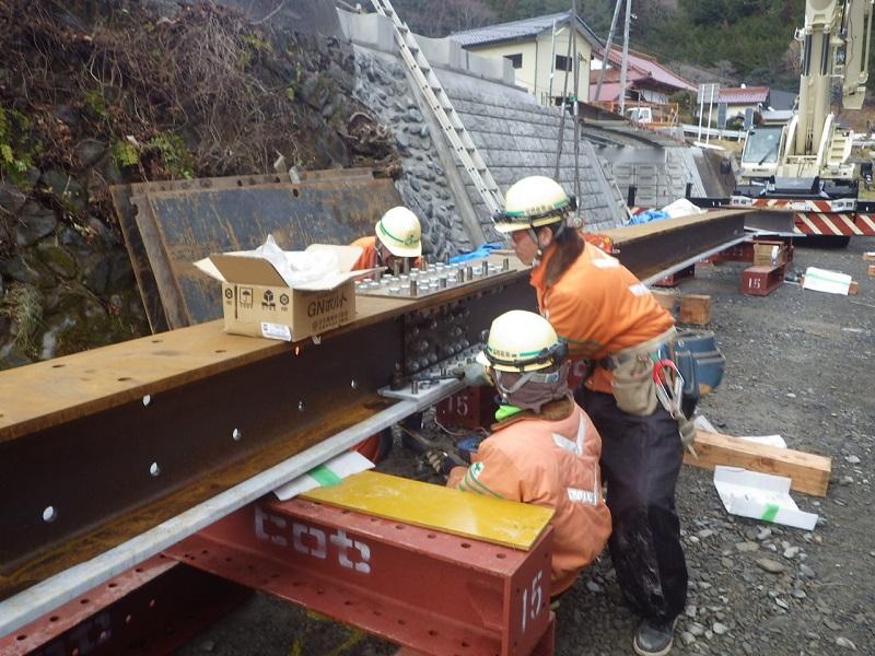二又橋施工状況