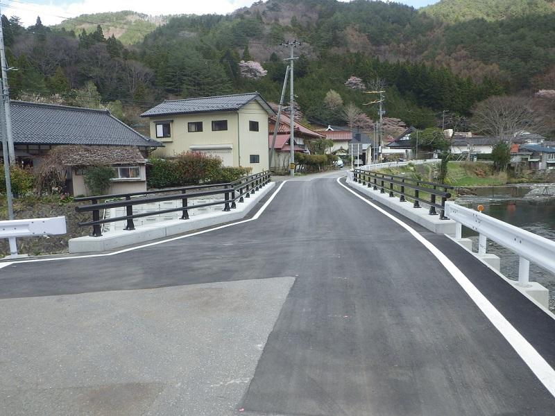 二又橋完成