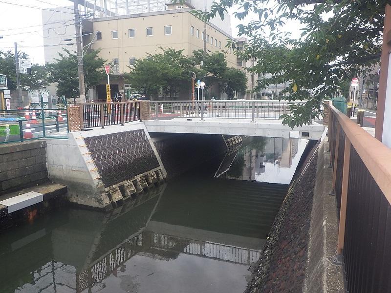 諏訪橋完成