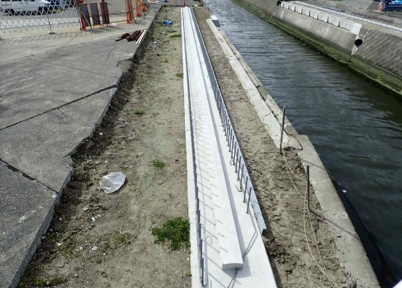 港橋施工状況