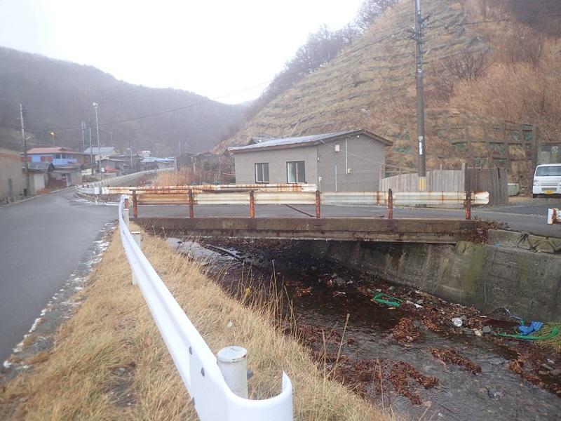 長後橋施工前状況