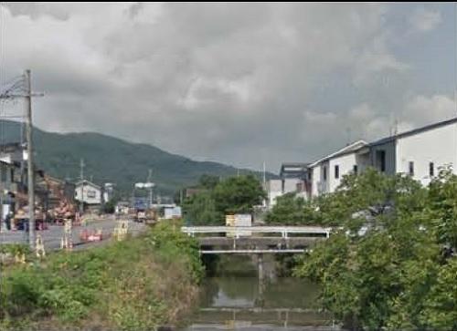 千々川小橋施工前