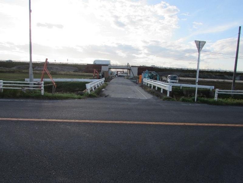 新木倉川橋施工前