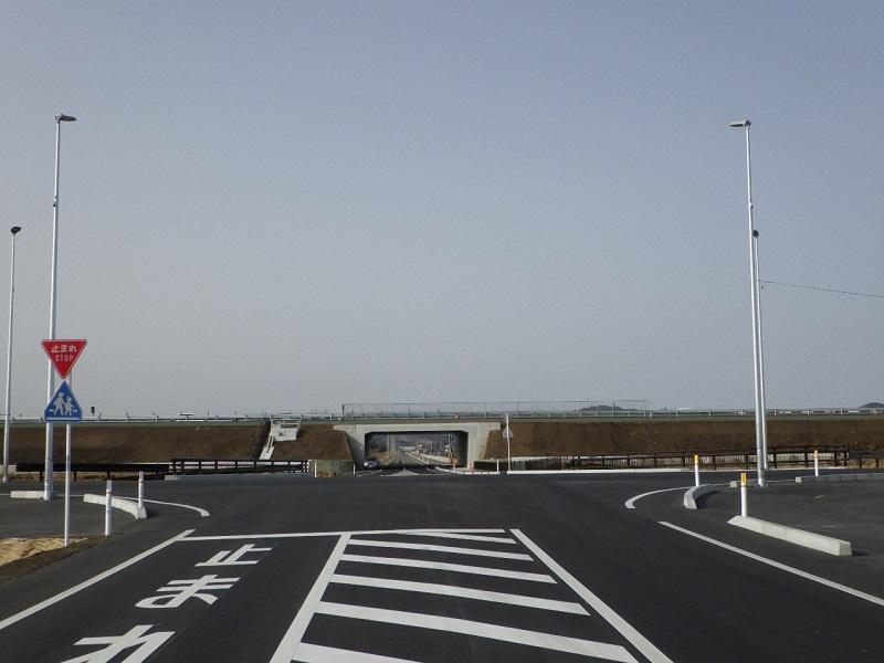 新木倉川橋完成