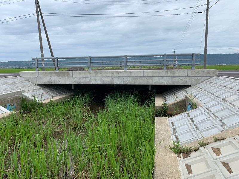邑知152号線橋完成