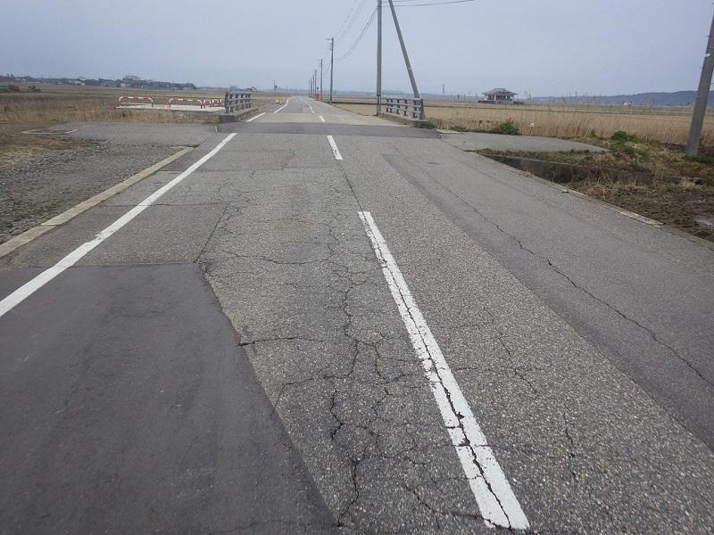 邑知152号線橋施工前