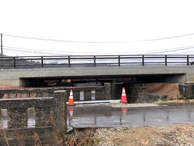 落合橋1期施工完成