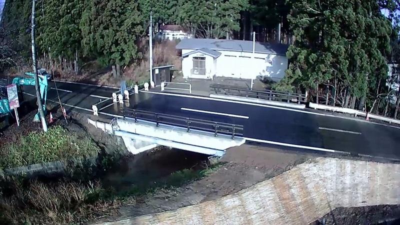 杉沢橋完成
