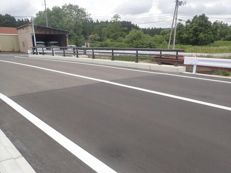 高野川橋完成