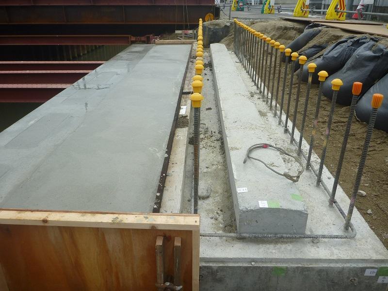 栄橋施工状況