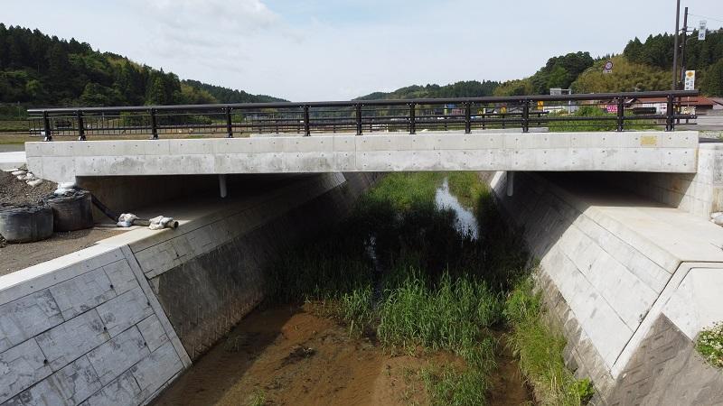 加賀熊坂橋完成