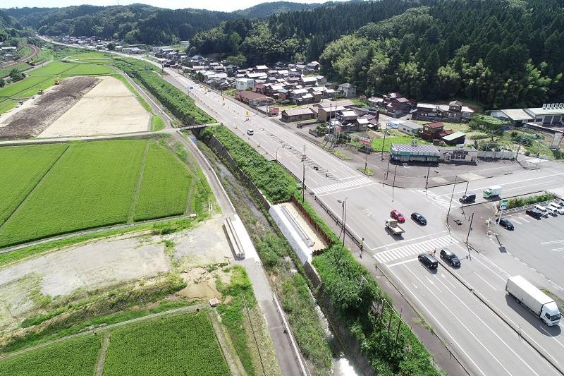 加賀熊坂施工状況