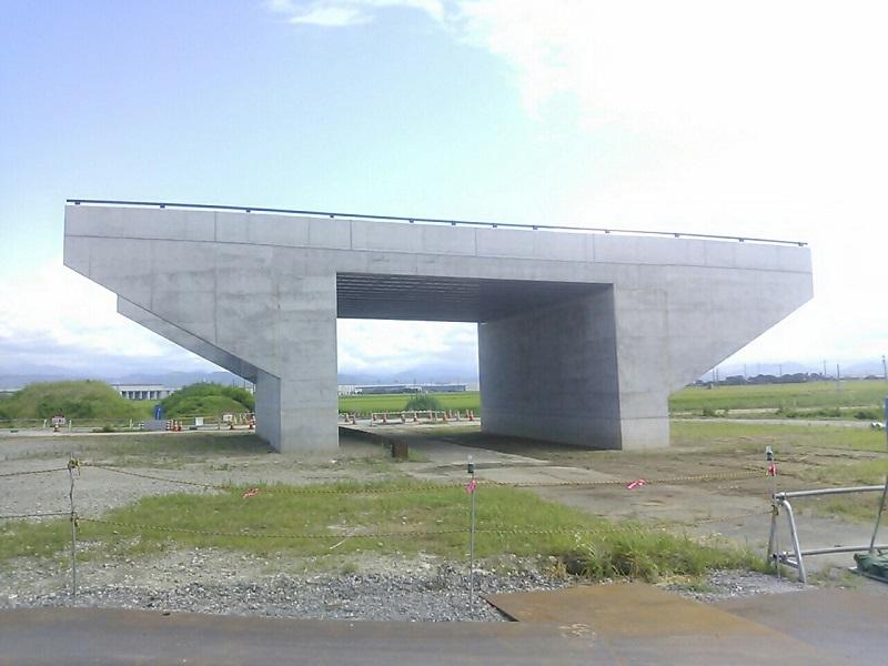 朝日南橋完成